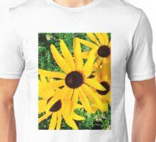 Black Eyed Susan Wildflowers Unisex T-Shirt