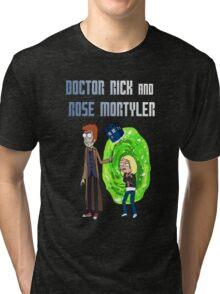 Doctor Rick and Rose Mortyler Tri-blend T-Shirt