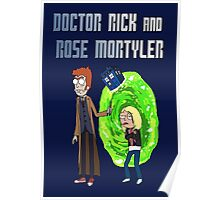 Doctor Rick and Rose Mortyler Poster