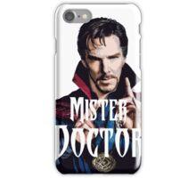 Mister Doctor iPhone Case/Skin