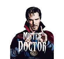 Mister Doctor Photographic Print