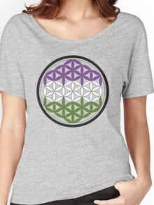 sacred geometry genderqueer Women's Relaxed Fit T-Shirt