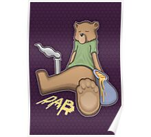 Bear Dab Poster