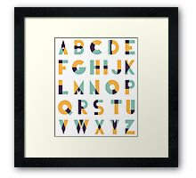 ABC ART Framed Print