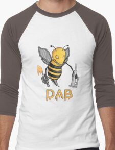 Bee Dab Men's Baseball ¾ T-Shirt