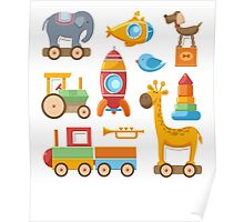 Baby And Kids Toys Poster