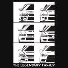 Mitsubishi Evolution. Legendary Family by OlegMarkaryan