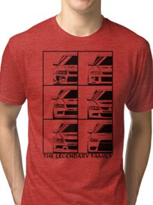 Mitsubishi Evolution. Legendary Family Tri-blend T-Shirt