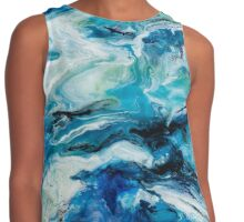 Utopia Resin Artwork Contrast Tank