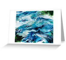 Utopia Resin Artwork Greeting Card