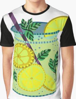 Lemonade in a jar illustration Graphic T-Shirt