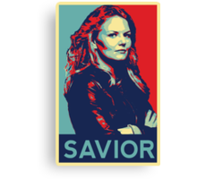 Emma Swan (Obama campaign poster) Canvas Print