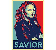 Emma Swan (Obama campaign poster) Photographic Print