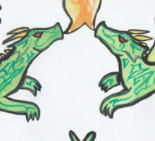 Dragon Knot Sticker