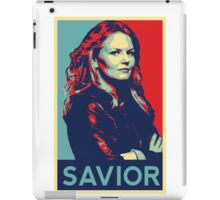 Emma Swan (Obama campaign poster) iPad Case/Skin
