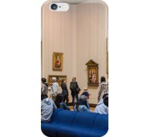 At the Louvre, Paris, France iPhone Case/Skin