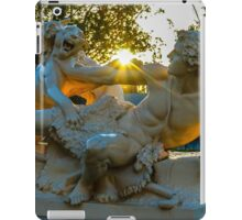 Sculpture at the Conservatory at Sunrise iPad Case/Skin