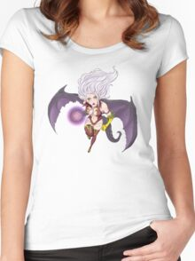Fairy Tail (Demon) Women's Fitted Scoop T-Shirt
