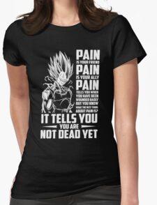 The DragonBall - Vegeta Womens Fitted T-Shirt
