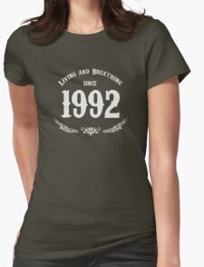 Since 1992 - White Womens Fitted T-Shirt