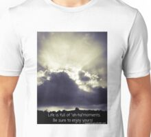 Ah-ha Moment in the Sky with Quote Unisex T-Shirt