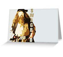 Swagrid Greeting Card