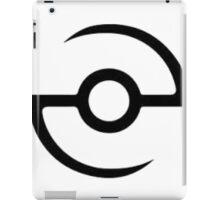 poke graph iPad Case/Skin