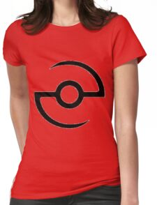 poke graph Womens Fitted T-Shirt