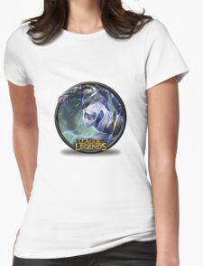 leagues of legends ZED Womens Fitted T-Shirt