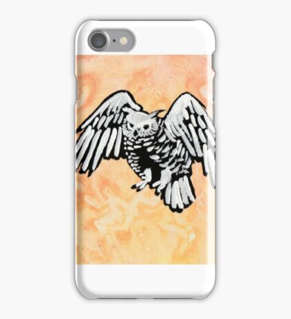 Harvest owls iPhone Case/Skin