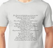 words Unisex T-Shirt