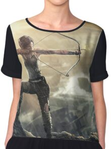 Lara Croft Tomb Raider Chiffon Top