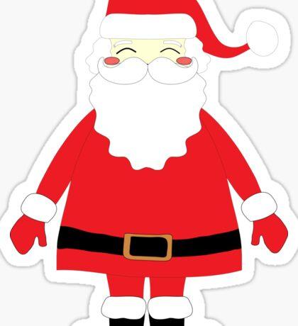 Happy Santa Sticker