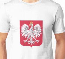 Polish Eagle Shield Unisex T-Shirt