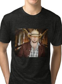 jason aldean tour date 2016 ollvv5 Tri-blend T-Shirt