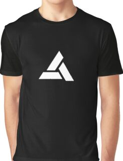 Assassin's Creed Movie : Abstergo lab experiment logo back Graphic T-Shirt