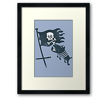 JOLLY ROGER Framed Print
