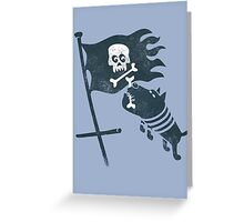 JOLLY ROGER Greeting Card