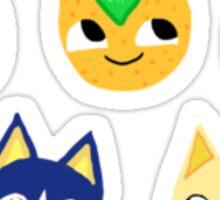 Animal Crossing Cat Sitcker Set Sticker