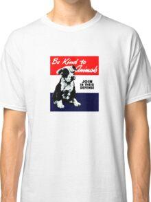 Vintage Animal Kindness  Classic T-Shirt