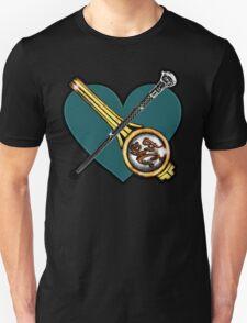 Chilton: Clip/cane over heart Unisex T-Shirt