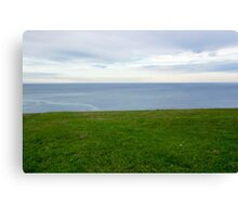 Green and blue Canvas Print