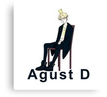 Agust D  Canvas Print