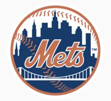 New York Mets One Piece - Short Sleeve