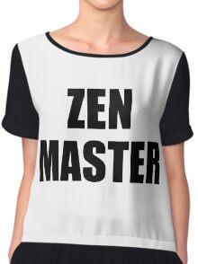 Zen Master Chiffon Top