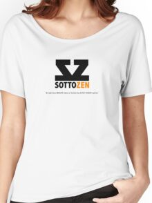 SottoZen - Logo and Slogan Women's Relaxed Fit T-Shirt