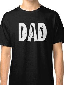 Men's Gold Dad Son Fathers Day T-shirt Classic T-Shirt