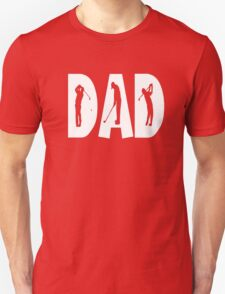Men's Gold Dad Son Fathers Day T-shirt Unisex T-Shirt