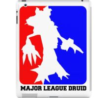 Major League Druid: Resto iPad Case/Skin