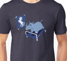 RUNNIN' RHINO Unisex T-Shirt